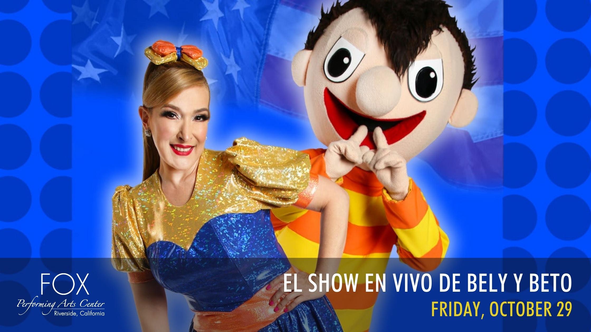 Illusion Touring presents El Show En Vivo de Bely y Beto